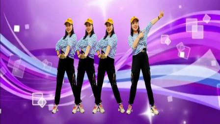 广场舞《两个世界》动感欢快,舞步简单,附教学分解!