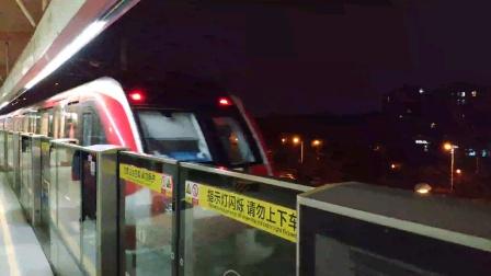 【地铁】南京2增购车发出未知嗡嗡异响 上行驶离仙鹤门站