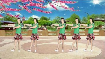 阿娜广场舞-有你的季节花更美-正反面加分解