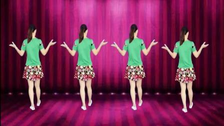 阿娜广场舞-有你的季节花更美-背面