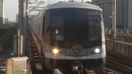 上海地铁11号线  嘉定北方向1169号车  嘉定新城站