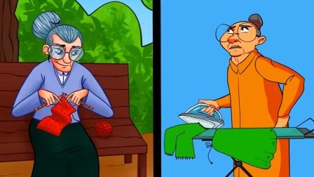 脑力测试:哪一个老奶奶是外星人?