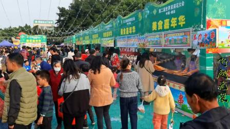 实拍广西第二届世界茉莉花商品汇展,感受到了横县人民的热情如火!