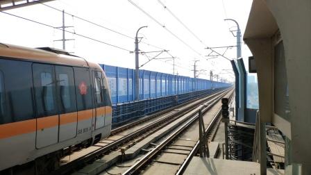【铁路】iPhone 12mini HDR拍摄宁芜线18km道口午间列车 小运转 客车 原色