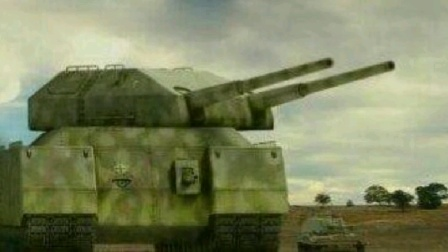 装甲纷争第1期 P1000巨鼠坦克!