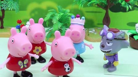 灰太狼变出来4个佩奇,猪爸爸分辨不出谁才是真的那个