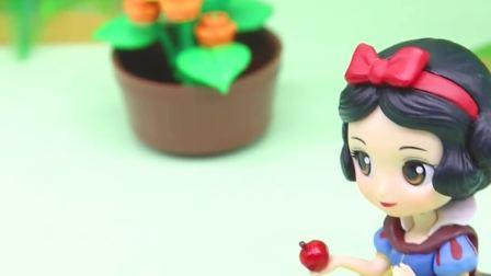 宝宝早教玩具:灰太狼拿走了爱丽儿的宝石,爱丽儿却误会了灵公主