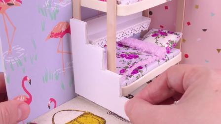 DIY手工制作:如何用纸箱拼装一间少女心爆棚的房间