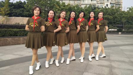 XQPT000066号 阳春三月乐逍遥舞蹈1队 学生文明礼仪操