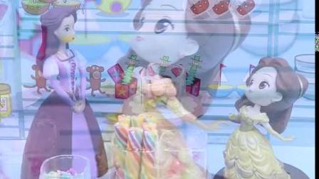 宝宝早教玩具:答题赢糖果,贝尔公主能答对题目吗?