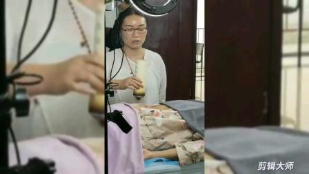保顺堂曾老师展示古方艾灸传承手法