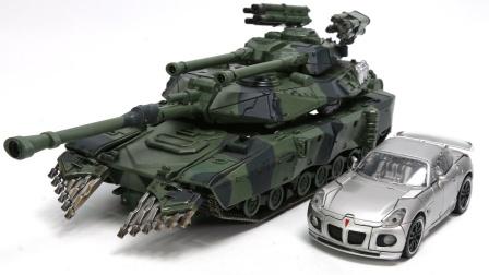 变形金刚电影1 KO夸张的斗殴杰作爵士坦克车车辆机器人玩具