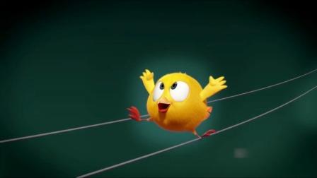 帅气可爱呆萌的小鸡JAKI来了,毛茸茸的真的太震撼了。