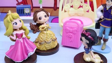 亲子有趣幼教动画:停电了,白雪的宝石不见了,是谁拿了?