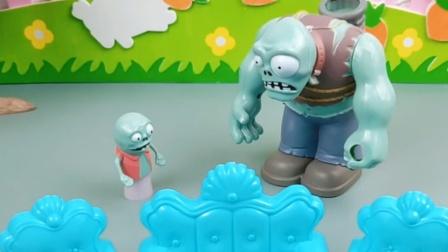巨人僵尸要把自己变强大,小鬼来的可真不是时候
