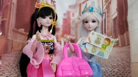 冰公主卖掉了心爱的包包,捐钱给有需要的人,罗丽好感动