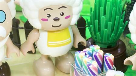 亲子有趣幼教动画,喜羊羊分享美食,你们知道是谁吗