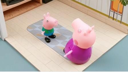 鸡妈妈家的孩子多,猪奶奶把乔治的玩具送点过去