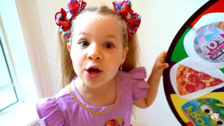 美国时尚儿童,萌宝兄妹一起玩大转轮,好好玩呀