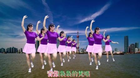 广场舞DJ版《拉萨夜雨》歌曲动听,草原舞蹈有点醉