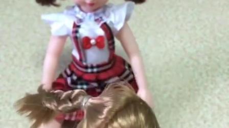 亲子有趣幼教玩具:头发上粘满漂亮的钻石