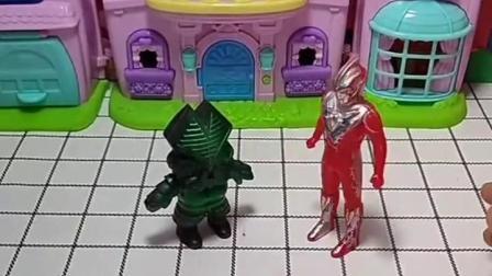 亲子有趣幼教玩具:奥特曼与怪兽