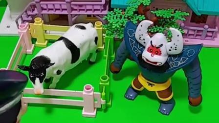 亲子有趣幼教玩具:奥特曼会怕蝎子精的吗