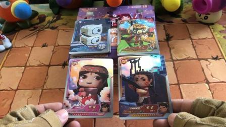 迷你世界荣耀卡牌开箱,卡卡和妮妮全有了