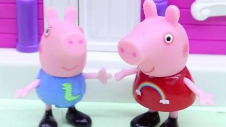 亲子有趣幼教动画:乔治买冰淇淋吃而错过了校车,这可怎么办?