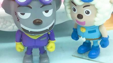 亲子有趣幼教动画:灰太狼混乱了,他不知道该干好事还是坏事?