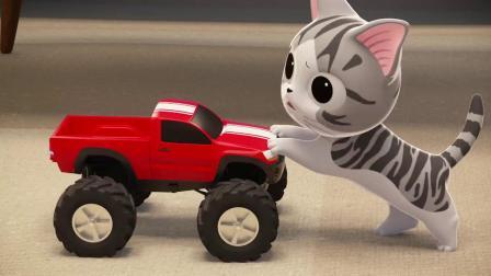 甜甜私房猫:小奇,你开心吧!