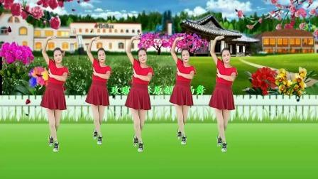 经典流行情歌广场舞《网络一线牵》优美舞步,好听又好看附教学