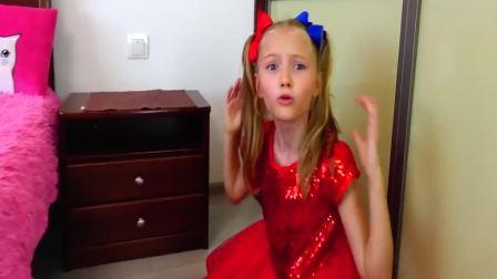 国外萌宝时尚:小女孩捡到彩色贝壳居然可以吃,真有趣啊