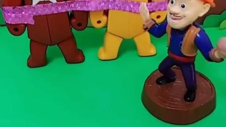 有趣益智宝宝早教:熊大熊二快走