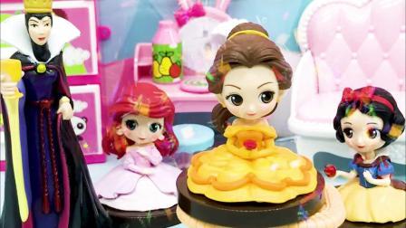 玩具早教宝宝益智:公主们举行歌唱比赛,谁是冠军呢?