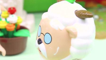 玩具早教宝宝益智:你们觉得羊村谁最聪明呢?