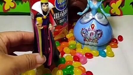 有趣益智宝宝早教:白雪喜欢吃糖果,好好吃呀
