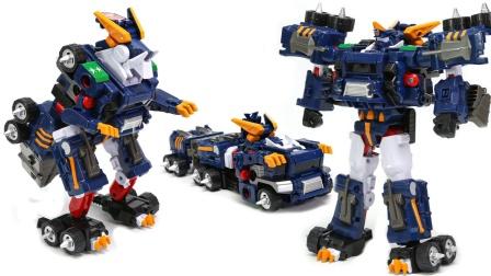 托博特 V三重改变超指挥车机器人玩具