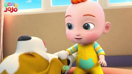 超级宝贝JOJO:玩累了一起睡觉觉,温馨的宠物家庭