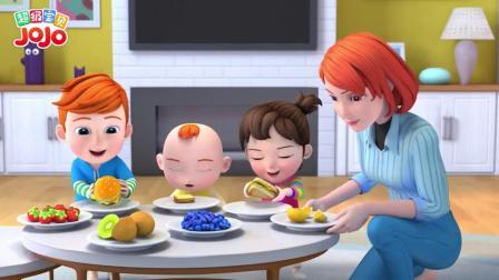超级宝贝JOJO:你要吃我做的面包吗,好好吃哦