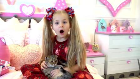美国时尚儿童,小公主的小表情,古灵精怪的
