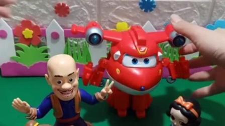 有趣益智宝宝早教:光头强在卖玩具