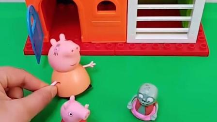 有趣益智宝宝早教:小鬼不能进猪妈妈家吗