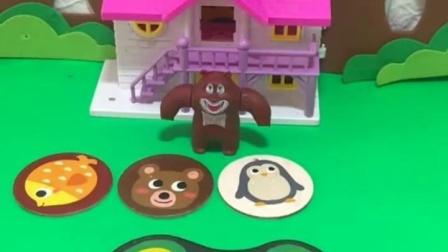 有趣益智宝宝早教:熊大看见猪宝宝了吗
