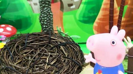 玩具早教宝宝益智:鸟妈妈的蛋不见了,是乔治拿走的吗?