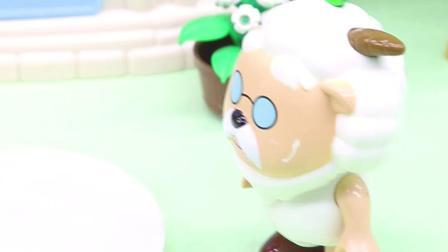玩具早教宝宝益智:村长的彩虹豆不见了,真的是懒羊羊偷吃的吗?