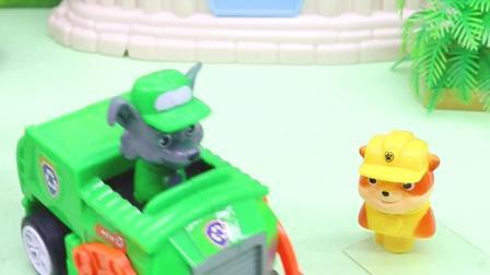 玩具早教宝宝益智:小砾的铲车不见了,天天开飞机帮他找铲车