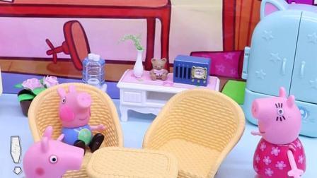 玩具早教宝宝益智:乔治的小脸为什么红红的呢?