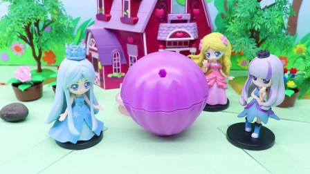 亲子早教宝宝玩具,被封印在魔法蛋里,大家都没办法解开它