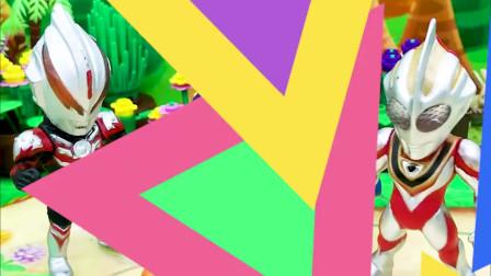 有趣亲子动画幼教,僵尸为骗能量糖果吃,变成奥特曼躲了进去